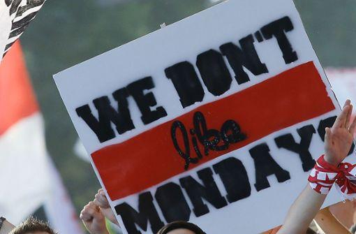 Auch VfB-Fangruppen beteiligen sich an Protestaktion
