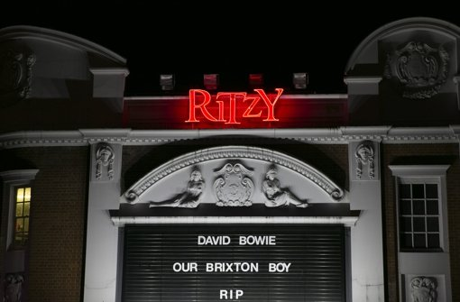 Bowie stammte aus Brixton. Foto: Getty Images Europe