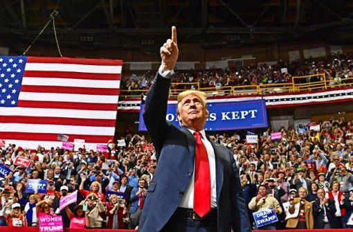Die Wirtschaft gibt Trump Rückenwind