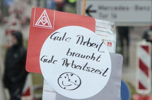 Wieder Streik im Mercedes-Benz-Werk