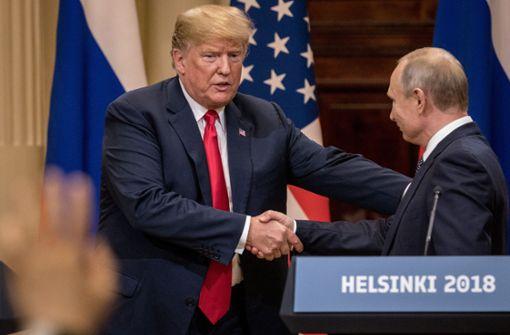 Trump muss Wogen in den USA glätten