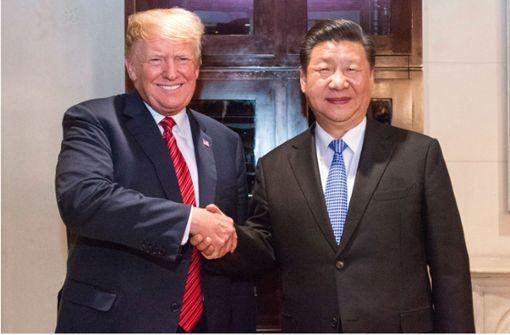 USA und China einigen sich auf Unterbrechung im Handelskrieg