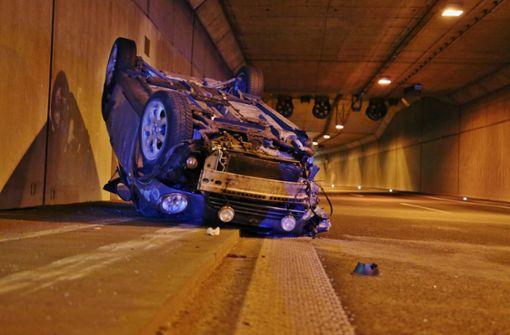 Leutenbachtunnel nach Unfall stundenlang gesperrt