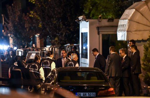 Ermittler durchsuchen Konsulat in Istanbul