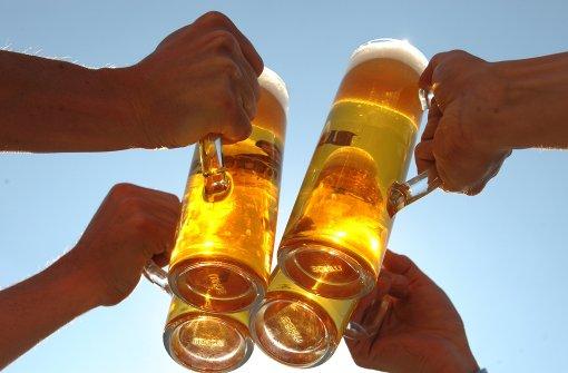 Bier oder Muskelkater