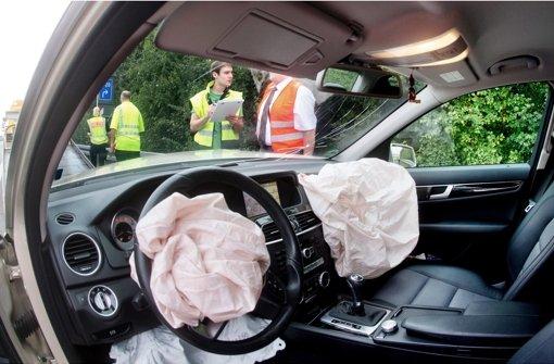 Im Airbag lauert Explosives