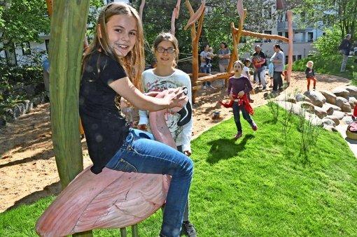 Klettergerüst Reim : Spielplatz in s neugereut: mit karacho über die rampen