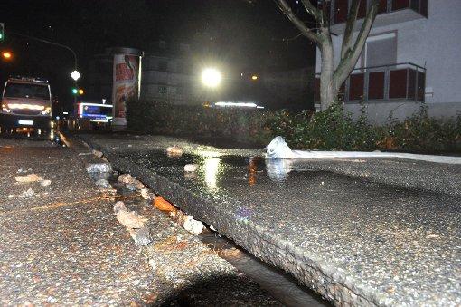 Wasserrohrbruch sorgt für Chaos