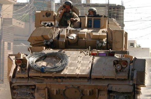 US-Militär verlegt 150 Panzer nach Europa