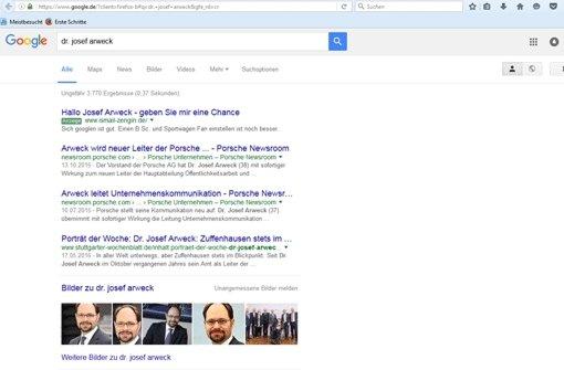 foto privat mit google anzeigen will ismail zengin seinem groen traum vom job in stuttgart nher kommen - Porsche Bewerbung