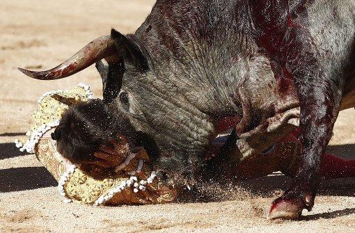 Torero bei Stierkampf in Spanien getötet