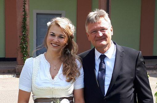 AfD-Chef Jörg Meuthen heiratet Parteimitglied
