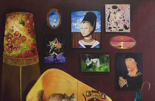 ... betritt die Malerin Emel Geris 2004 die Kunstbühne. Die bewusste Kargheit ...   Foto: Fotorechte: Emel Geris