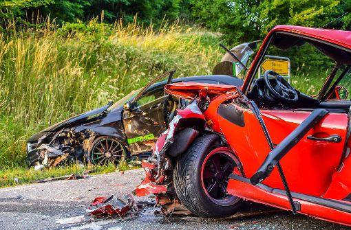 Unfall Bei 214 Stringen 18 J 228 Hriger Kracht In Porsche Oldtimer Baden W 252 Rttemberg Stuttgarter