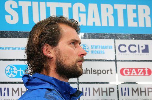 Die Tage von Tomasz Kaczmarek bei den Stuttgarter Kickers sind vorbei: Der Trainer musste seinen Spind im ADM-Sportpark räumen. Foto: Baumann