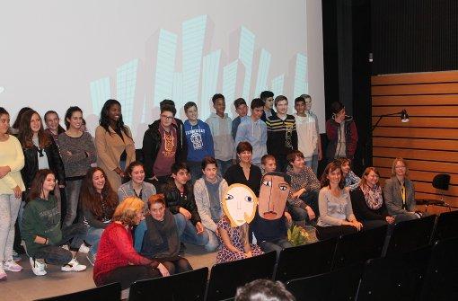Die Mühe hat sich gelohnt: Die Heumadener Birken-Realschüler können sich über einen Preis freuen. Foto: Archiv Schwieder