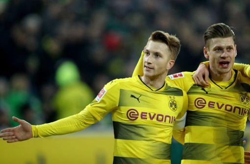 Marco Reus schießt Dortmund zum Sieg