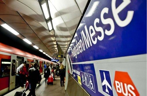 Stuttgart 21: Die Anbindung zum Flughafen ist strittig Foto: Leif Piechowski