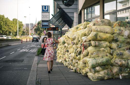 Deutsche produzieren mehr Plastikmüll als EU-Durchschnitt