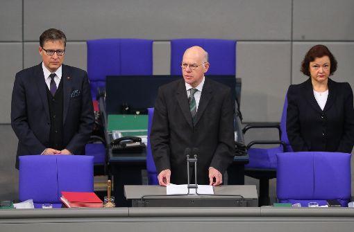 Bundestagspräsident Lammert findet klare Worte