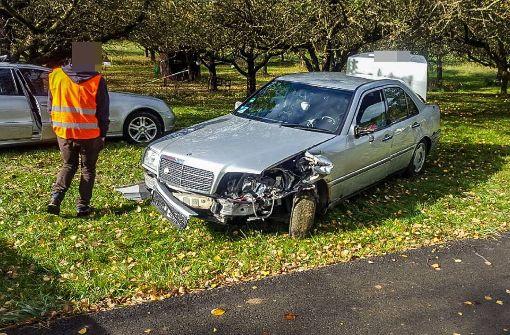 Unfall mit fünf Fahrzeugen
