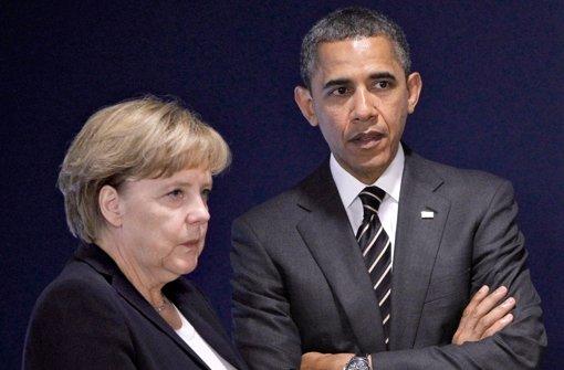 Merkel will es sich mit den USA nicht verscherzen