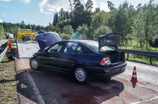 Der Unfall geschah am Montagnachmittag. Foto: SDMG