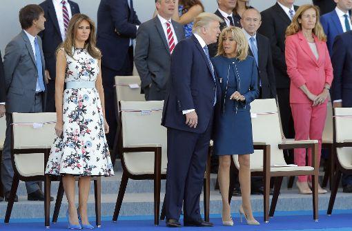 Flapsige Sprüche zur Figur der First Lady Frankreichs