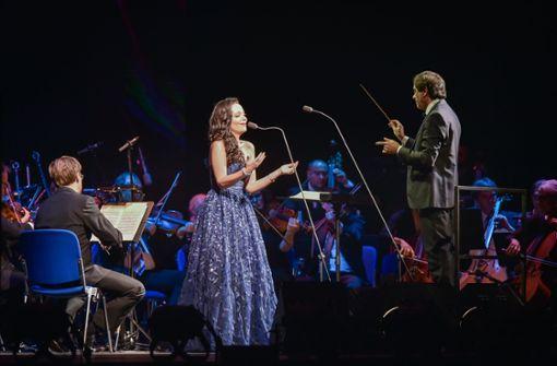 Neben einem Chor und einem Orchester waren auch einige Stargäste und eine Sopranistin mit dabei. Foto: Ferdinando Iannone©
