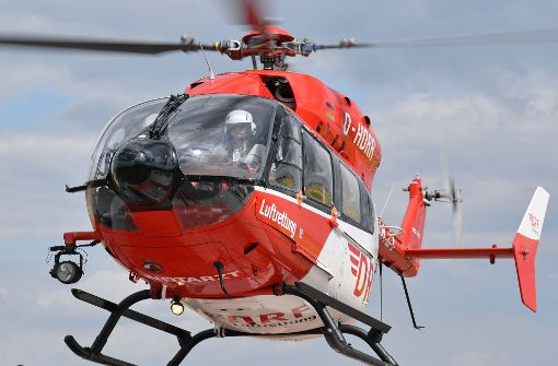Mit einem Helikopter wurde der Deutsche nach Aarhus geflogen. Dort konnte jedoch nur noch der Tod festgestellt werden. (Symbolbild) Foto: dpa-Zentralbild