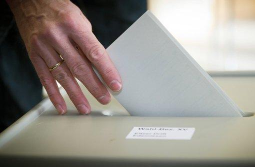 Die Jugend soll wählen gehen