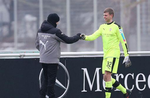 Benjamin Uphoff ist sein Ersatzmann. Foto: Pressefoto Baumann