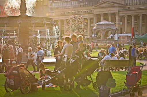Historisches Volksfest  soll in der City bleiben