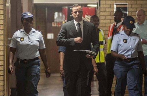 Pistorius in Hausarrest entlassen