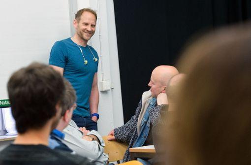Tobias Köhler ist der Innovationsmanager der SWMH, zu der auch unsere Zeitung gehört. Er unterstützt das Feinstaubradar und den Hackathon. Foto: Lichtgut - Oliver Willikonsky
