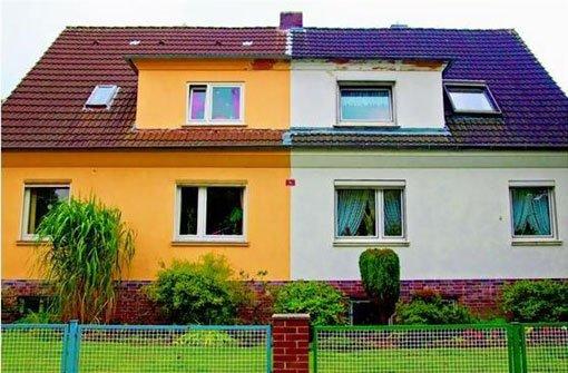Fassadenfarbe  Qual der Wahl: Fassadenfarbe gut überlegen - Bauen & Wohnen ...