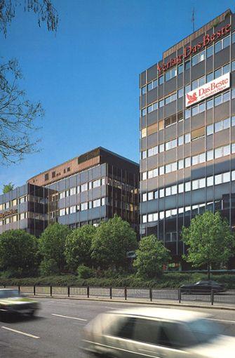 """Von 1979 bis 2009 befang sich der Sitz von """"Reader's Digest"""" an der Augustenstraße  1 in Stuttgart.  Foto: Reader's Digest"""
