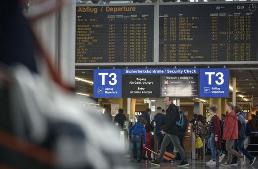 Auch Reisende in Stuttgart sind betroffen