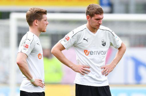 SV Sandhausen muss weiter zittern