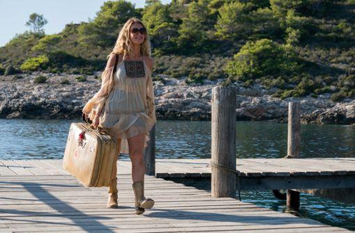 """Da kommt sie anmarschiert: Lily James betritt die Welt von """"Mamma mia"""".  Foto: Universal"""