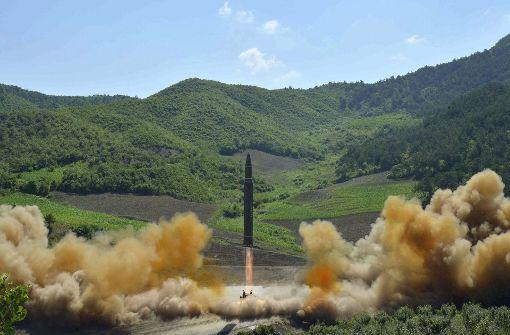 Nordkorea feuert erneut Rakete ab