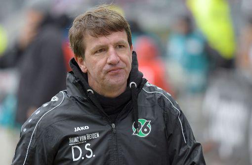 Trainer Daniel Stendel hat keine Zukunft bei Hannover 96. Foto: dpa