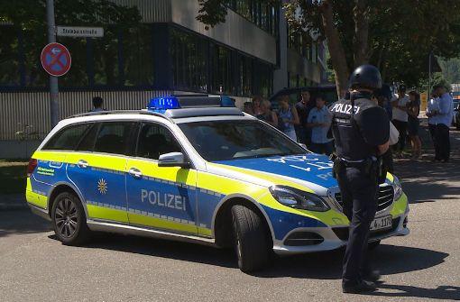 In Esslingen hat es an der Friedrich-Ebert-Schule einen Amokalarm gegeben. Foto: SDMG