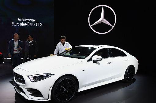 Autobauer präsentieren Mercedes CLS und Porsche Boxter GTS