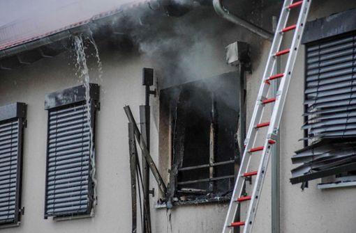 Bei dem Brand in einem Seniorenheim in Frickenhausen (Landkreis a href=/region/esslingen target=_blankEsslingen/a) ... Foto: SDMG