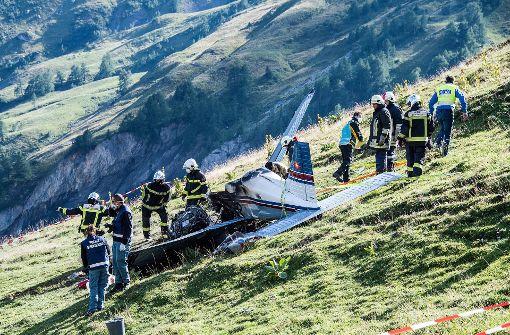 Am Dienstagabend ist in der Schweiz ein Kleinflugzeug abgestürzt. Foto: dpa