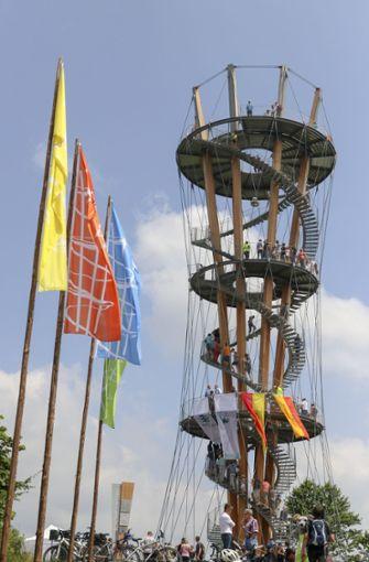 Der Schönbuchturm ist insgesamt 35 Meter hoch. Foto: factum/Granville