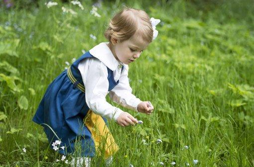Kleine Prinzessin kommt in Naturkindergarten