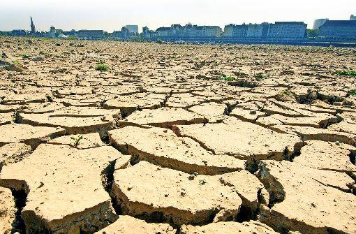 Sowohl Dürren als auch extreme Hochwässer treten durch den  Klimawandel häufiger auf Foto: dpa