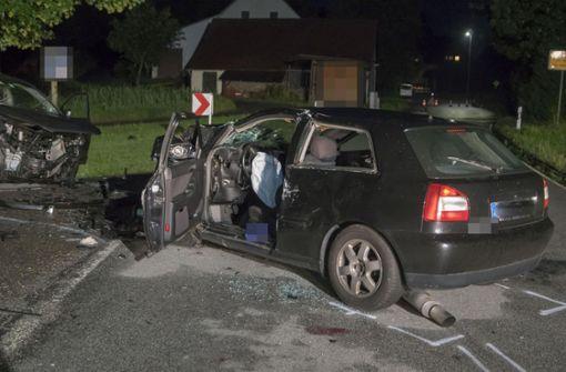 Für den Fahrer des Audi kam jede Hilfe zu spät. Er verstarb noch an der Unfallstelle Foto: 7aktuell.de/Franziska Hessenauer